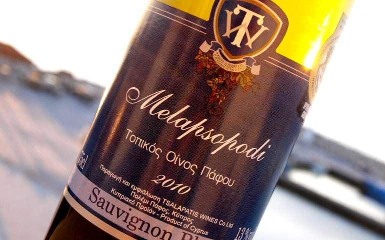 Melapsopodi Paphos regional white wine – Naturally Cyprus