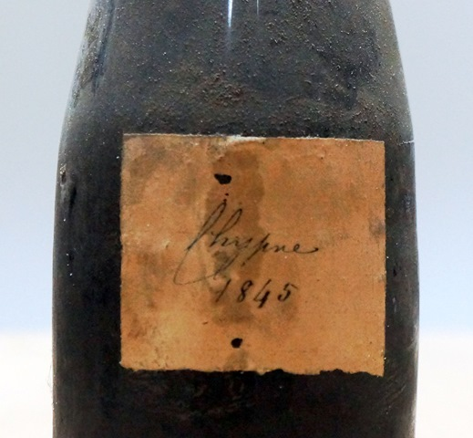 The Wine of My life – 1845 wine from Cyprus – Les carnets de François Audouze