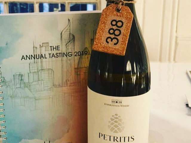 The Petritis Xynisteri – Portfolio Tasting London