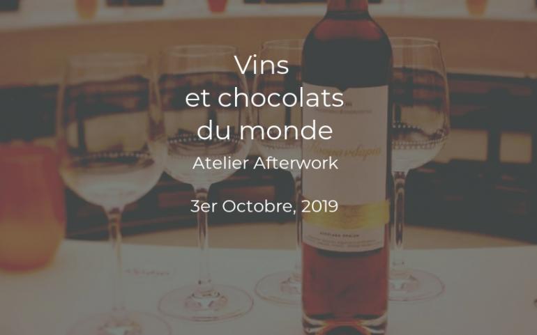 Atelier Vins et Chocolats du Monde – A La Cité du Vin